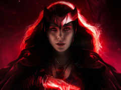 scarlet, witch, сниматься