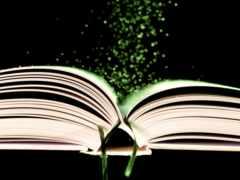книга, goodfon, ленточка