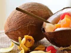 кокосовый, плод, pazlyi