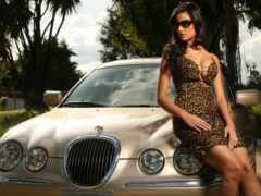 ford, jaguar, devushki