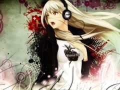 anime, девушка, красивые
