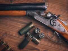 firearm, shotgun, оружие