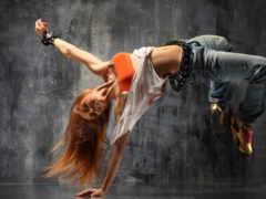 dance, девушка, hop