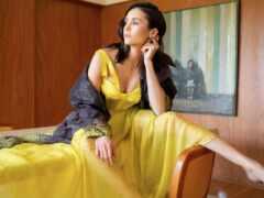 nina, yellow, платье