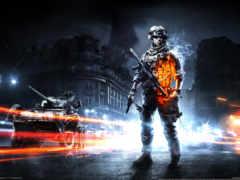 battlefield, fondos, солдат