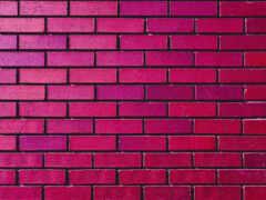 стена, brick, purple