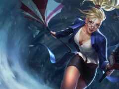 league, janna, сказание