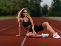 спортсменка, russian, definition