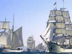 флот, marine, река
