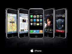 apple, iphone, телефон