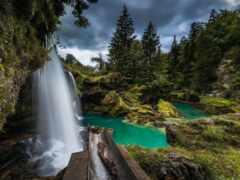 водопад, love