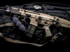 оружие, винтовка, шрам