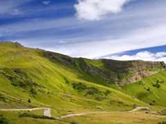 горы, холмы, природа