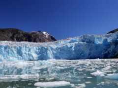glacier, winter, природа