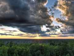 oblaka, тёмные, тяжелые