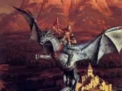 дракон, крыло, weis