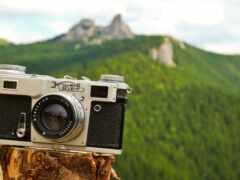 фотоаппарат, экран, зелёный
