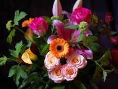 букет, розы Фон № 8101 разрешение 2300x1522