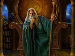 wizard, fantasy, посох