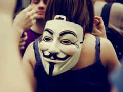 маска, anonymous, девушка