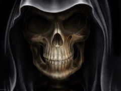 смерть, глаза, металл