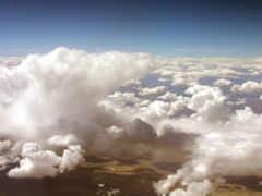 oblaka, объемные, небо