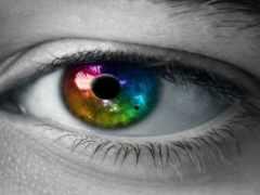 свет, глаз, зрачок