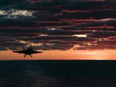 небо, закат, hornet