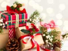 год, new, подарки