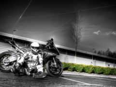 мотоцикл, мужчина, bmw