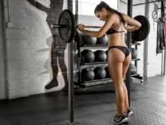 фитнес, девушка, workout