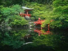 храм, пагода, япония
