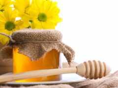 баночка, мед, wooden