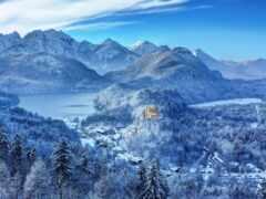 germanii, castle, гора
