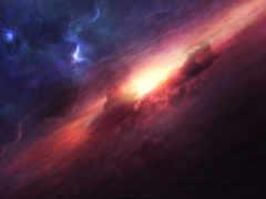 космос, desktop, digital