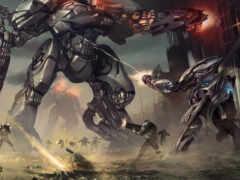 robot, war, солдат