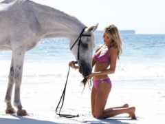 лошади, девушка, женщина