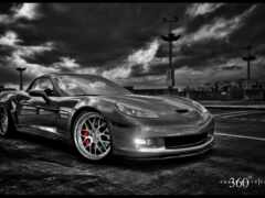 car, black, white