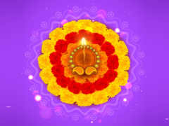 diwali, rangoli, цветы