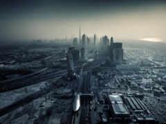 серость, города, город