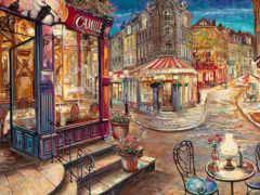 париж, парижа, улочки Фон № 64890 разрешение 1920x1200