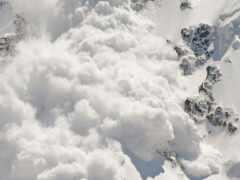 avalanche, сход, снег
