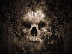 череп, play, gothic