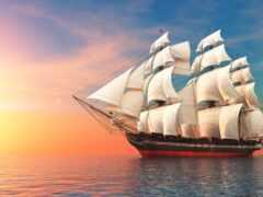 sailboat, корабль