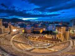 roman, cartagena, театр