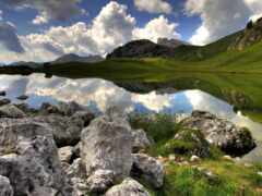 explore, озеро