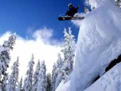 сноуборд, экстрим, сноуборде