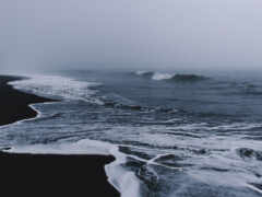 aesthetic, ocean, пляж