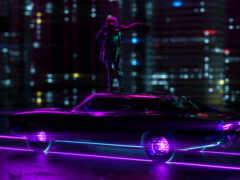скорость, арта, neon