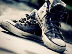 krossovka, старый, туфли